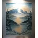 Winter mountain.