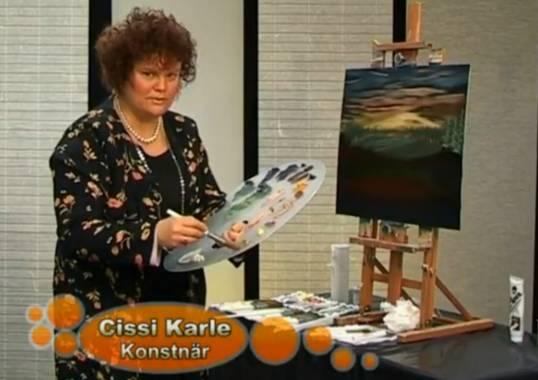Målarlycka, hemsidan om Bob Ross, mig och mina målarkurser.